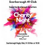 Charity Night – Important Reminder